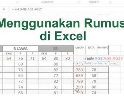 Rumus-Excel-RANK,-Mencari-&-Menentukan-Ranking